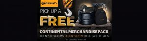 continental tyre merchandise pack